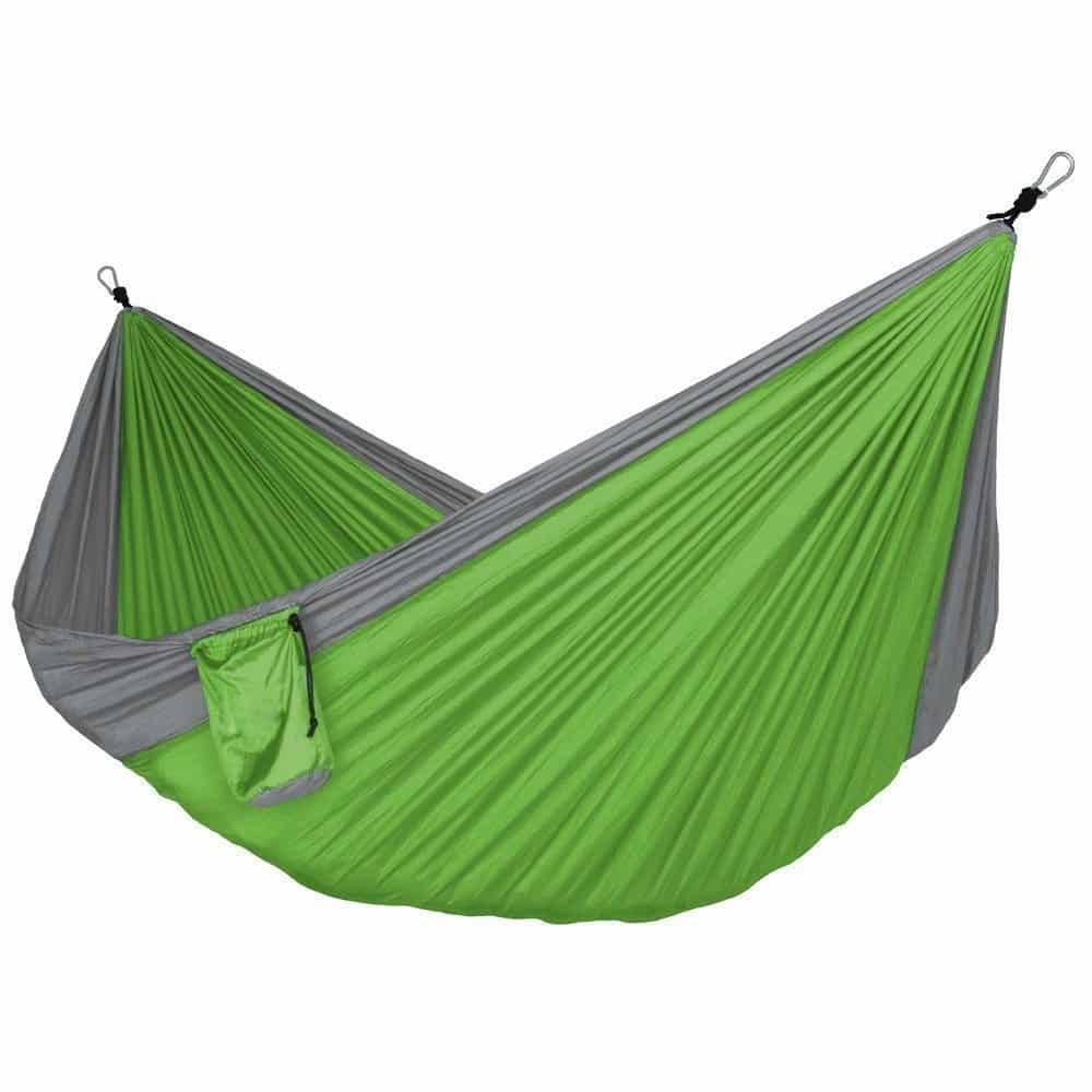 Double and single camping hammocks