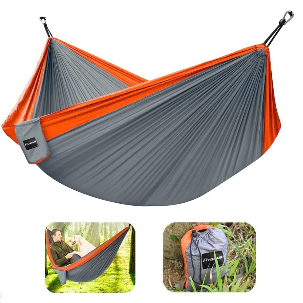 Sleeping Bags Camp Sleeping Gear Humble High Strength Parachute Nylon Fabric Camping Single Parachute Hammock With Strong Rope For Camping Hiking Travel