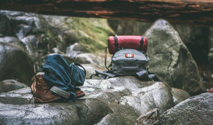 how to pack a rucksack or backpack