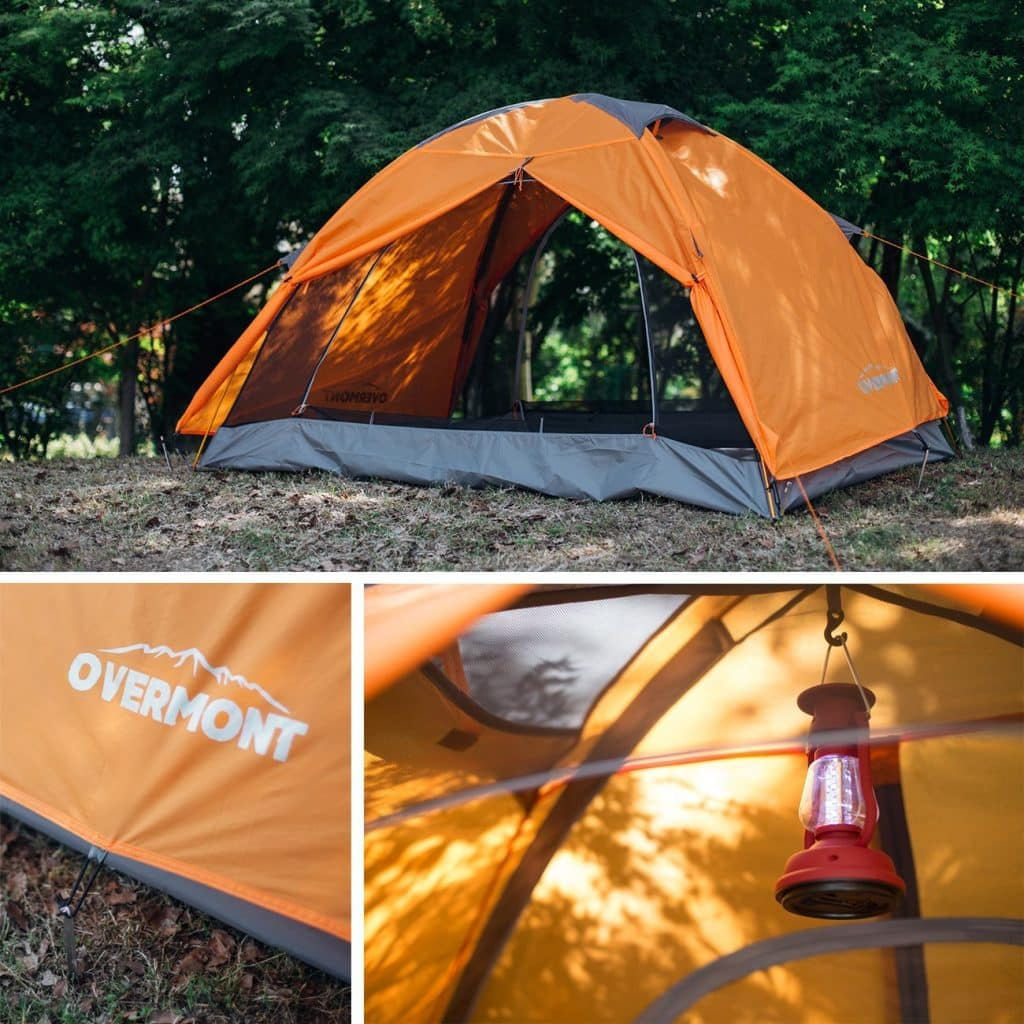 Overmont Two-Person Camping Tent