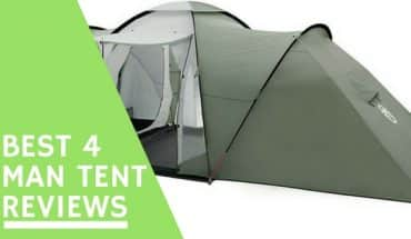 Best 4 man tent reviews UK