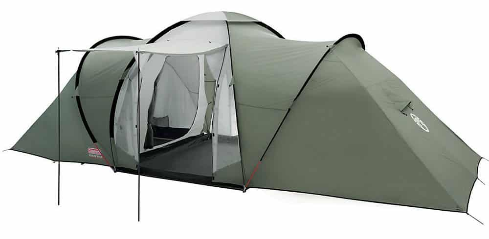 Coleman Ridgline 4 man Tent UK  sc 1 st  Geared4C&ing & Best Four Man Tent Reviews UK | Geared 4 Camping