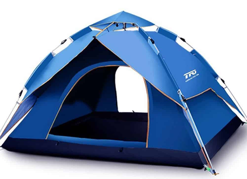 TFO Automatic Quick 4 man Pop Up Tent