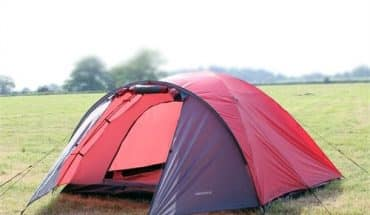 The North Gear Camping Mars Waterproof Four Man Dome Tent Review