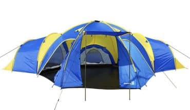 Peaktop 3+1 Rooms 8 Persons Large Family Group Camping Tent review